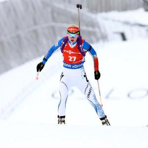 Mari Laukkanen är övertränad och avslutar VM i förtid.