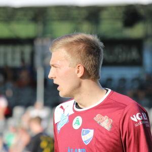 Otso Virtanen, IFK Mariehamns målvakt.