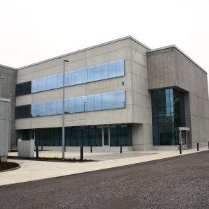 U-byggnaden vid Vasa centralsjukhus.
