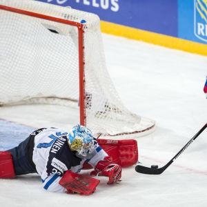 Veini Vehviläinen vann JVM-guld på hemmaplan våren 2016.