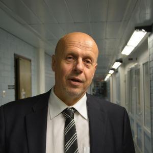 Göran Honga, Vasa sjukvårdsdistrikts direktör.