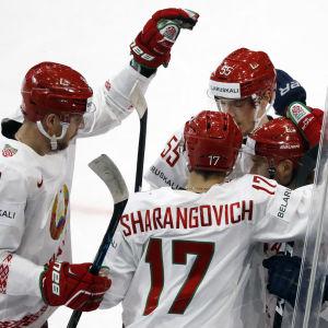 Vitryssland hade inte mycket att jubla över under årets VM, men kan trösta sig med att ha hoppat förbi Finland i VM:s arrangörskö.