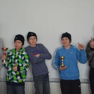 Elever från Klinkbacka i Pojo