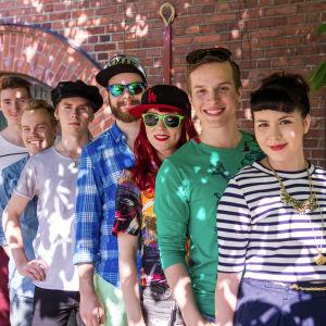 Vihreät Valot ryhmäkuvassa