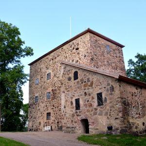 Borgen på Qvidja gård.
