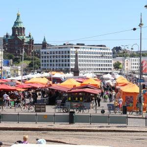 Salutorget i Helsingfors sommaren 2014