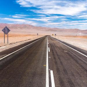 Landsväg i Chile