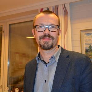 Mikael Eriksson vid Ekenäs gymnasium