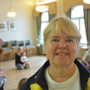 Organisationssekreterare Margó Storm vid Folkhälsan i Åbo