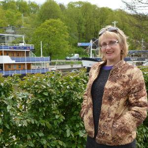 Ami Aspelund i Åbo.