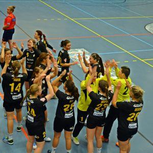 ÅIFK:s handbollsdamer, 29.10.2015.