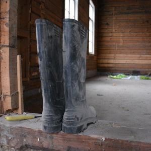 Byggprojekt på gång i gamla kasernen på Örö
