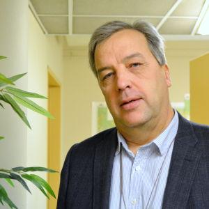Bildningsdirektör Hilding Mattsson i Borgå