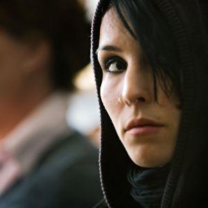 Noomi Rapace som Lisbeth Salander i filmen Män som hatar kvinnor.
