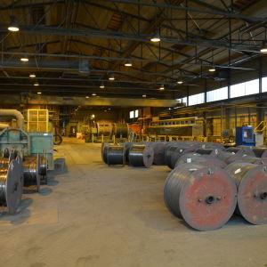 Dalwires fabrik i Dalsbruk.