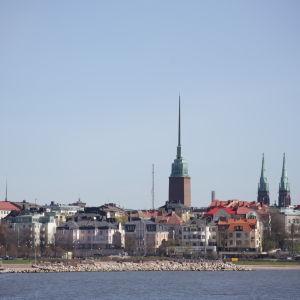 Vy över Helsingfors.