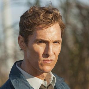 Matthew McConaughey i den amerikanska tv-serien True detective.