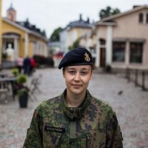 Beväring Isa Bergström