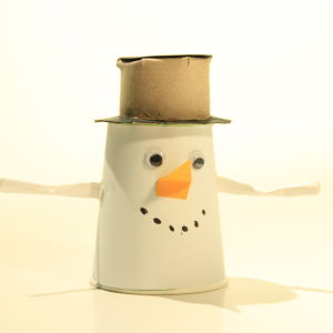Askarrellaan: Nean lumiukko
