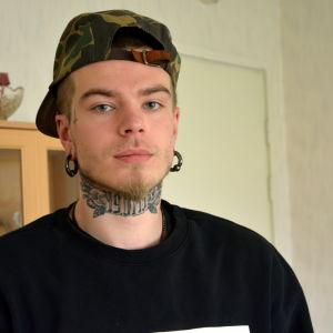David Björkström har försökt bli frisk från sitt drogberoende sedan år 2010.