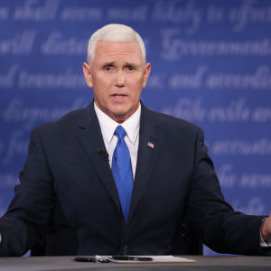Republikanernas vicepresidentkandidat Mike Pence