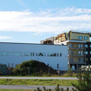 Bygget i Larsmo