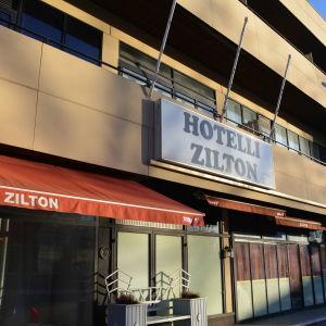 Hotell Zilton i Lovisa utifrån.