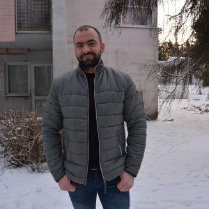 Anwar Naser, asylsökande från Irak.