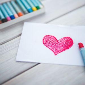 Ett ritat hjärta