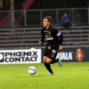 Ilari Äijälä var kapten för FC Honka säsongen 2014.