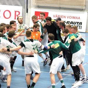 Grankulla IFK firar.