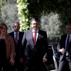 Tysklands utrikesminister Sigmar Gabriel tillträdde i januari och befinner sig nu på resa i Mellanöstern.