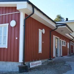 Hälsostationen i Houtskär.