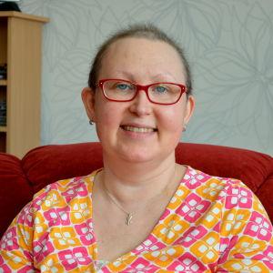 Cecilia Rådmans fick cancerdiagnosen i november 2016.