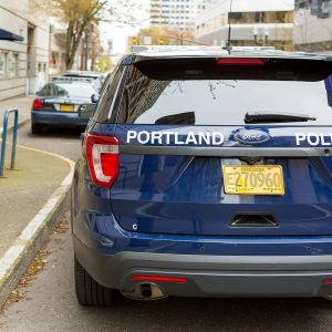Polisbil i Portland.