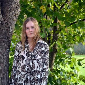 Praoeleven Sara Lindqvist från Perho.