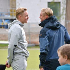 Richard och Fredrik Jensen.