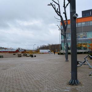 Gården vid konstfabriken i Borgå