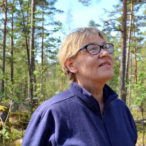 Lovisas stadsträdgårdsmästare Mona Bäckman