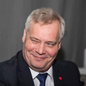 SDP:s ordförande Antti Rinne