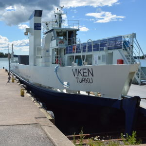 Färjan Viken i Granvik