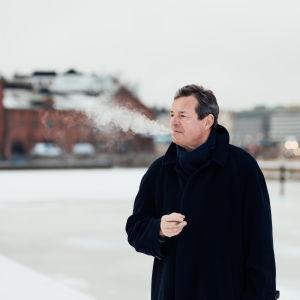 Författaren och journalisten Matts Dumell