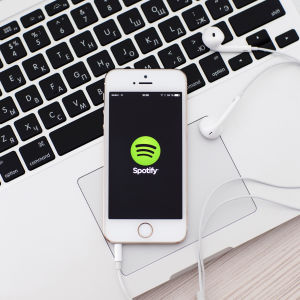 Spotify matkapuhelimessa