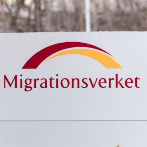 Migrationsverkets skylt