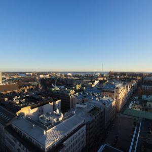 Vy över Helsingfors