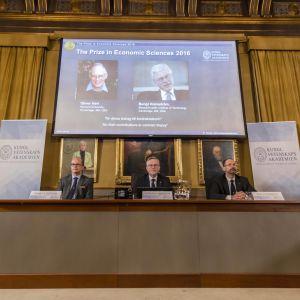 Priset i ekonomisk vetenskap till Alfred Nobels minne kungörs 10.10.2016