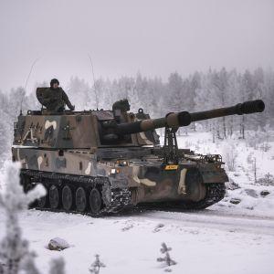 En sydkoreansk pansarvagn