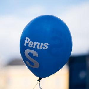 Perussuomalaiset kampanjoi kuntavaali 2017 Helsinki