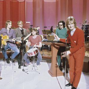 Riki Sorsa yhtyeineen vuoden 1981 euroviisukarsinnassa
