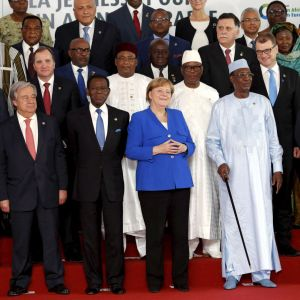 AU-EU-möte i Abidjan i Elfenbenskusten 29.11.2017.
